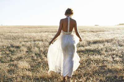 Luce los hombros y la espalda con tu vestido de novia. ¡Descubre las más hermosas propuestas!