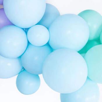 Globos azules pastel en varios tamaños- Compra en The Wedding Shop