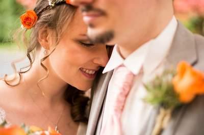 Camille et Jérôme : une histoire d'amour sur MSN, une demande spectaculaire et un joli mariage fleuri