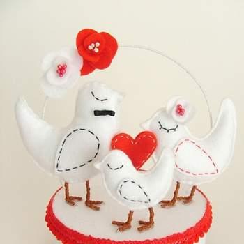 Cake-Topper für Ihre Hochzeitstorte