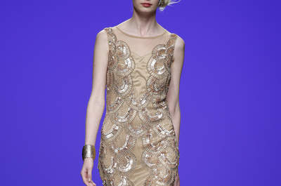 Matilde Cano primavera 2016: Vestidos de fiesta inspirados en las diosas griegas