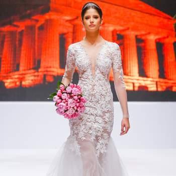 Os melhores vestidos de noiva desfilados no Luxo de Festa 2015