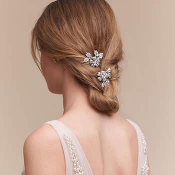 Petunia Hair Clips. Créditos: Bhldn