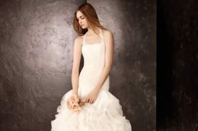 Presentan nuevos vestidos de la colección