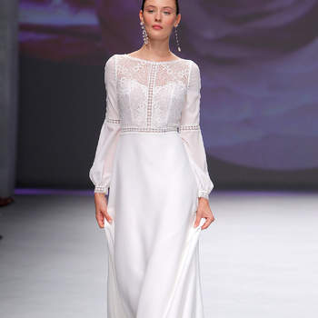 Aire Barcelona. Credits: Barcelona Bridal Fashion Week