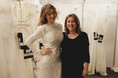 Entrevista a YolanCris, pachwork de tejidos para las novias de 2014
