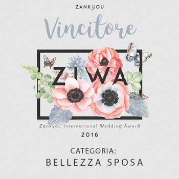 ZIWA 2016: Categoria Bellezza Sposa