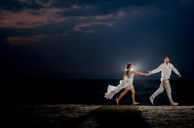 La boda de Isabel y Craig: un tesoro a la orilla del mar