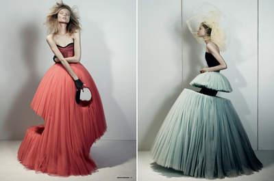 Robes de mariée Viktor & Rolf : originalité et excentricité garanties