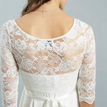 Arielle ivory long detail