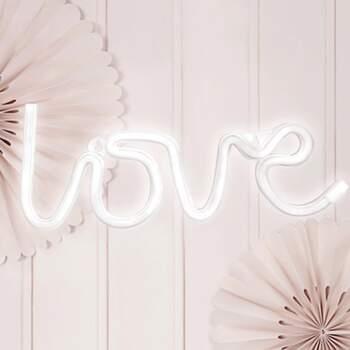 Neon Led Love - Achetez sur The Wedding Shop !