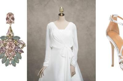 Accesorios 2016 para novia: Los complementos para un look perfecto ¡de pies a cabeza!