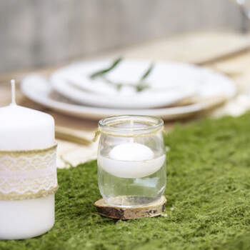 Velas flotantes blancas 50 unidades- Compra en The Wedding Shop