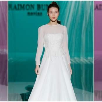 Vestidos de novia Raimon Bundó 2018: Inspiración ideal para tu día B