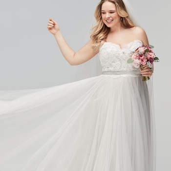 Vestidos de novia talla grande: ¡las mejores tendencias para tu gran día!