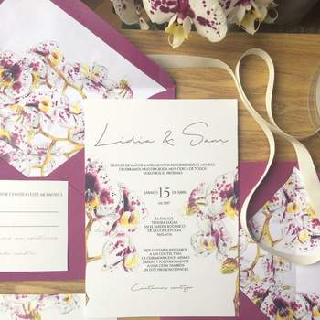 Invitaciones de boda Missmssmith, una empresa especializada en invitaciones de boda y en otros detalles decorativos.