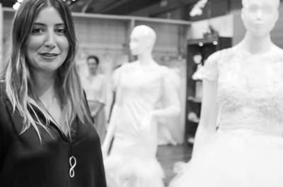 Carol Hungria no CasaModa Noivas 2014: nova coleção de vestidos semi prontos