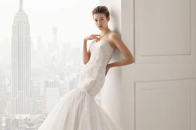 Les robes de mariée de Rosa Clara 2015: entre sophistication et glamour