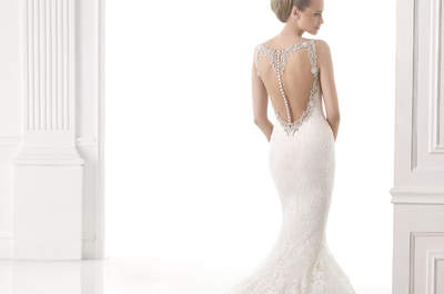 Hochzeitskleider in der Kollektion Pronovias Atelier 2015: voluminöse Röcke, Stickereien und Tüll