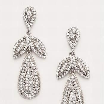 Orecchini pendenti di diamanti