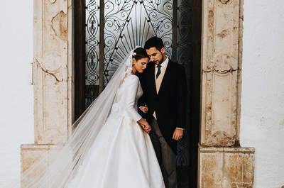 Granada tiene una luz especial: la boda de Carmen y Juan Antonio