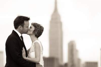 Zankyou Couple Alex & Lisa's NYC Wedding by Martha Stewart Weddings!