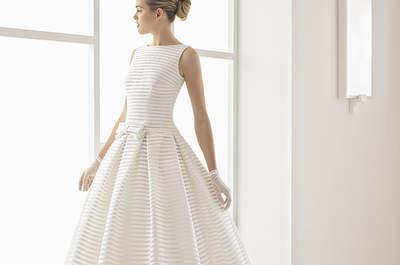 Románticos y soñadores: no te pierdas los diseños de la colección Rosa Clará Two 2017