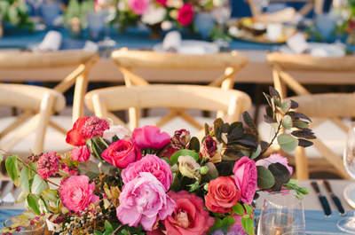 Centros de mesa: ¡las mejores tendencias para decorar el banquete de tu matrimonio!