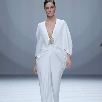 Isabel Sanchis. Credits_ Barcelona Bridal Fashion Week