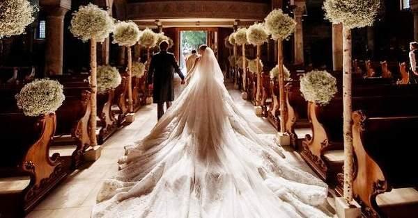 fa3f6f25e Os 7 vestidos de noiva mais caros da história