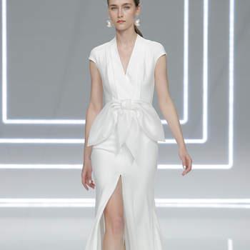 Vestidos de novia con cintas y lazos 2017: 30 diseños llenos de romanticismo