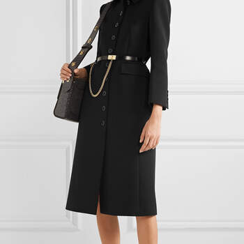 Casaco de lã Givenchy via Net-a-Porter