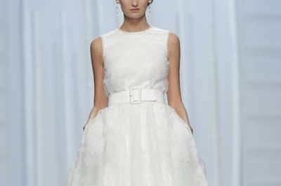 Свадебные платья с поясом 2016: подчеркните свою талию