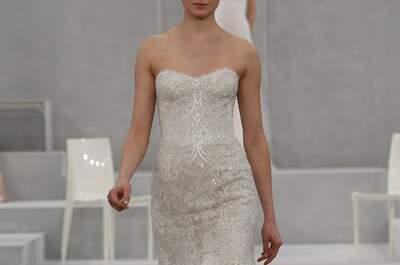 Seleção dos vestidos de noiva mais espetaculares de Monique Lhullier 2015 na New York Bridal Week