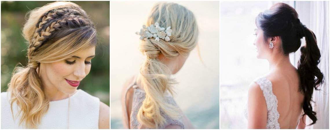 Verpassen Sie nicht diese Brautfrisuren mit Pferdeschwanz: Ein neuer Hochzeitstrend