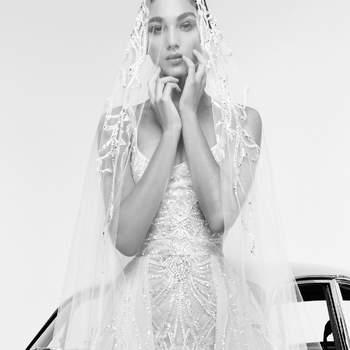 Rina with veil, Zuhair Murad
