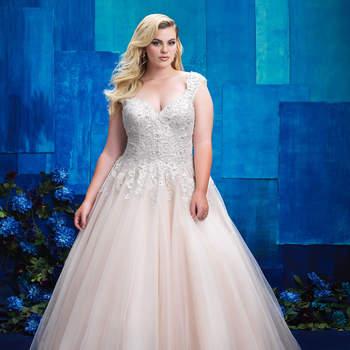 Style W394. Credits- Allure Bridals