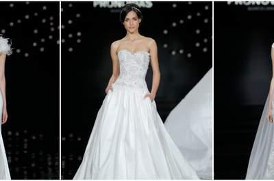 Vestidos de novia en un cielo de magia: Así fue el desfile Pronovias 2017