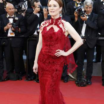 Julianne Moore de Givenchy. Credits: Cordon Press