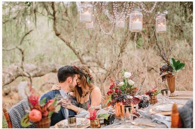 Le froid romantique: Séance photos avant le mariage, inspirée par les couleurs de l'hiver