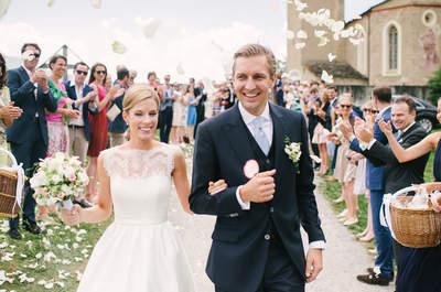 Frisch verheiratet – 40 emotionale Hochzeitsfotos direkt nach dem Ja-Wort, das sind Glücksmomente pur!