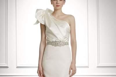 Carolina Herrera Wedding Dresses Fall 2013: Vintage Hollywood Sophistication