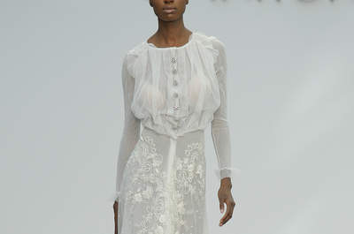 Vestidos de novia para mujeres altas: 40 diseños para brillar y cautivar