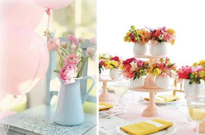 O essencial de um casamento de primavera: os sabores, os aromas, os looks!