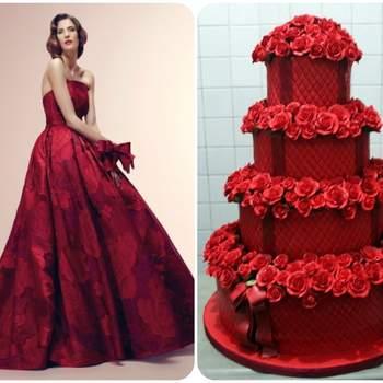 20 abiti da sposa 2014, abbinati ad altrettante torte
