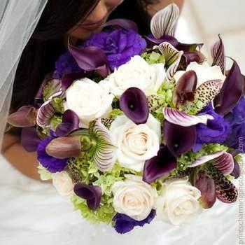 Mut zur Farbe auch beim Brautstrauß- Foto: Rebeccas Silver Rose
