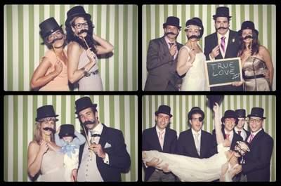 Fotografía espontánea para tu photocall de boda