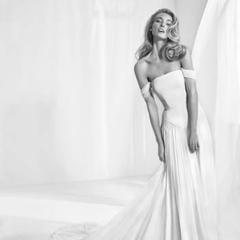 Vestidos de novia con hombros caídos: ¡atrévete a seducir!