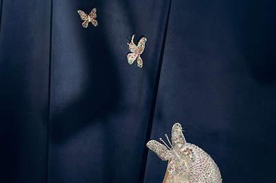 Los zapatos que Christian Louboutin ha creado para Cenicienta. Foto: Disney