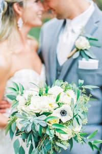 Bukiety ślubne z polnych kwiatów 2017